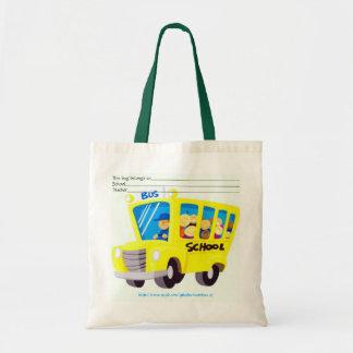 """My School STUFF"" Canvas Bag"