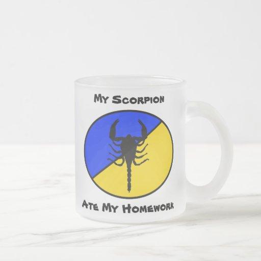 My Scorpion Ate My Homework! Coffee Mug