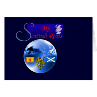 My Scottish Roots.:-) Card