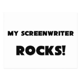 MY Screenwriter ROCKS! Postcard