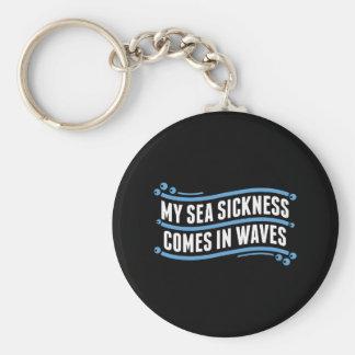 My Sea Sickness Keychain