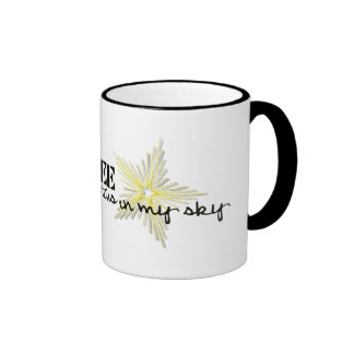 My Seabee puts the stars in my sky Ringer Coffee Mug