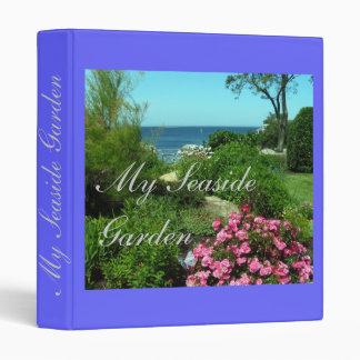 """My Seaside Garden"" Notebook Binder"