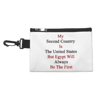 My Second Country Is The United States But Egypt W Accessories Bags