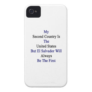 My Second Country Is The United States But El Salv Case-Mate iPhone 4 Case