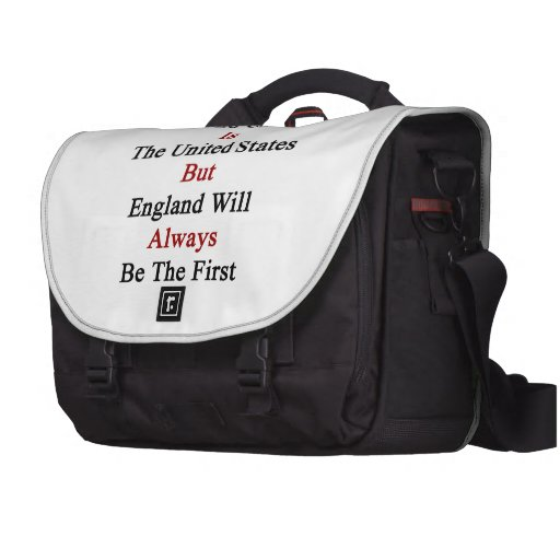 My Second Country Is The United States But England Laptop Commuter Bag