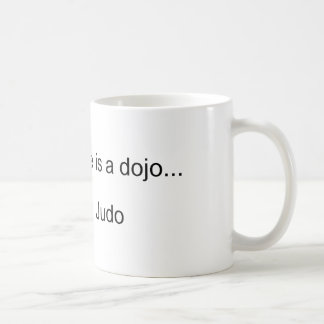 My Second Home is a Dojo Classic White Coffee Mug