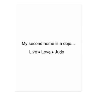 My Second Home is a Dojo Postcard