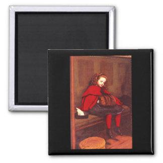 My Second Sermon', Sir John_Portraits 2 Inch Square Magnet