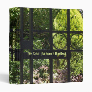 My Secret Garden 3 Ring Binder