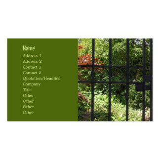My Secret Garden Double-Sided Standard Business Cards (Pack Of 100)