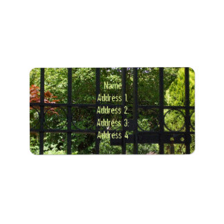 My Secret Garden Address Label
