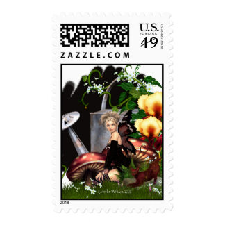 My Secret Place Postage Stamps