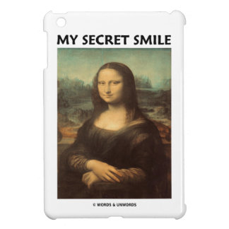 My Secret Smile (da Vinci's Mona Lisa) iPad Mini Covers