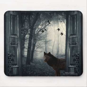 CrimsonAndInk My Secret World Mouse Pad