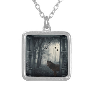 My Secret World Silver Plated Necklace