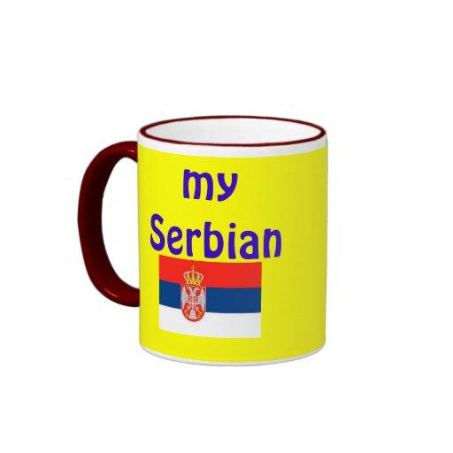 my Serbian Mug