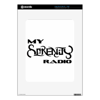 My Serenity Radio Products Support Vets Decal For The iPad