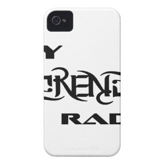 My Serenity Radio Products Support Vets iPhone 4 Case-Mate Case