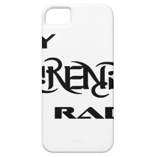 My Serenity Radio Products Support Vets iPhone SE/5/5s Case