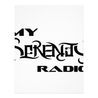 My Serenity Radio Products Support Vets Letterhead