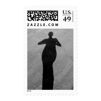 My Shadow by Leslie Peppers Postage