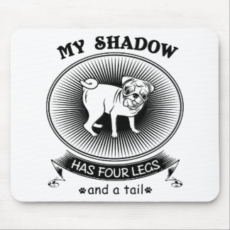 My shadow mouse pad