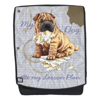 My Shar-Pei Ate My Lesson Plan Backpack