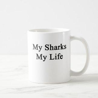 My Sharks My Life Coffee Mug