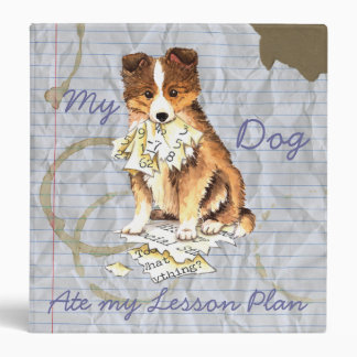 My Sheltie Ate my Lesson Plan Binder