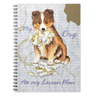 My Sheltie Ate my Lesson Plan Notebook