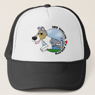 My Sheltie Loves Agility Trucker Hat