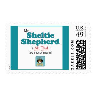 My Sheltie Shepherd is All That! Postage