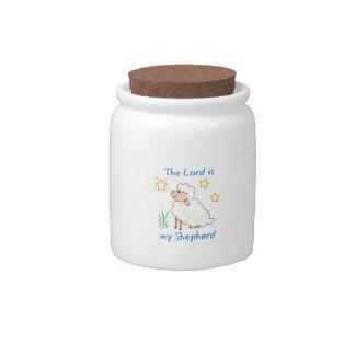 My Shepherd Candy Jars