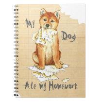My Shiba Inu Ate My Homework Notebook