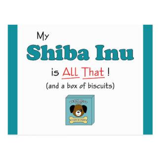 My Shiba Inu is All That! Postcard