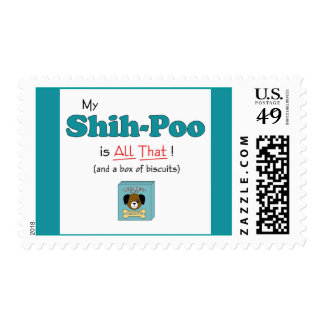 My Shih-Poo is All That! Postage Stamp