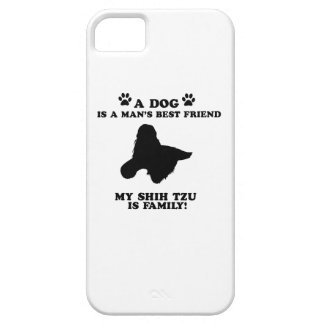 My shih tzu family, your dog just a best friend iPhone 5 covers