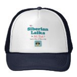 My Siberian Laika is All That! Mesh Hats