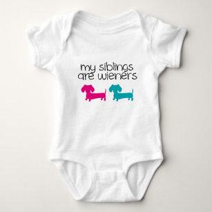 Animal Baby Gift Funny Baby Gift Infant Bodysuit Wiener Dog Baby Shower Gift Humor Dachshund Baby Shower Baby Funny