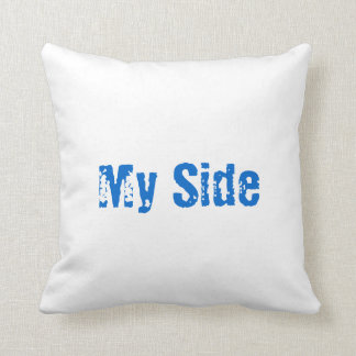 My Side, Your Side Pillow