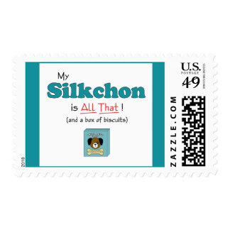 My Silkchon is All That! Postage