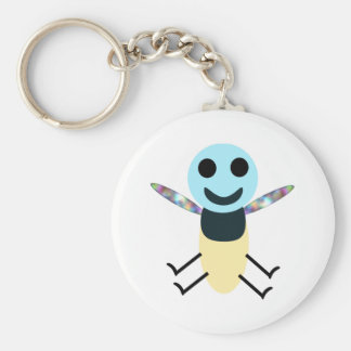 My Silly Firefly Basic Round Button Keychain