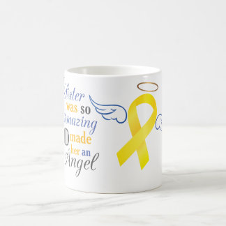 My Sister An Angel - Bladder Cancer Coffee Mug