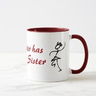 My Sister has the Best Sister Mug
