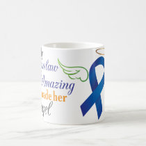 My Sister-In-Law An Angel - Anal Cancer Coffee Mug