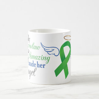 My Sister-in-Law An Angel - Bile Duct Cancer Coffee Mug