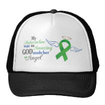 My Sister-in-Law An Angel - Bile Duct Cancer Trucker Hat