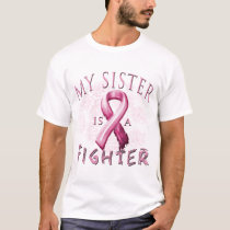My Sister is a Fighter Pink T-Shirt