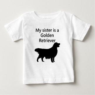 My Sister Is A Golden Retriever T Shirt
